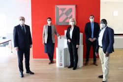 Vizepräsidentin des Deutschen Bundestages gratuliert zum Firmenjubiläum