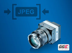 Mit weniger mehr erreichen: Neue GigE Kameras mit integrierter JPEG-Bildkompression sparen Bandbreite, CPU-Last und Speicherplatz