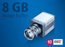 High-speed Bildverarbeitung mit 8 GB internem Bildspeicher