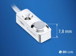 Induktiver Miniatursensor mit 3 mm Messbereich