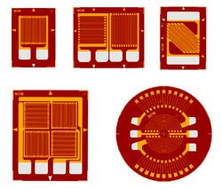 Verbesserte Trägermaterialien, Metallfolien-Dehnungsmessstreifen