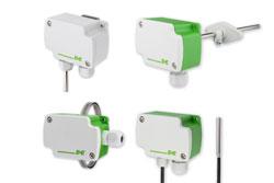Modbus und BACnet Temperaturfühler für die Gebäudetechnik