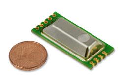 Miniatur-Sensormodul misst CO2, Temperatur und Druck