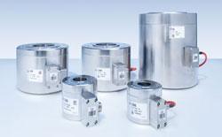 Große Druckkräfte wirtschaftlich messen: Neuer Kraftaufnehmer C6B von HBM