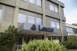 Leuze electronic mit eigener Vertriebsgesellschaft in Deutschland