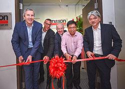maxon verstärkt die Präsenz in Südostasien