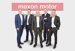 Mehrere Wechsel im maxon Management