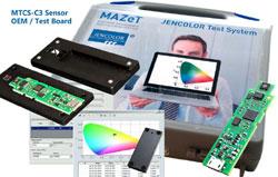 MTCS-C3 Colorimeter: Testsystem für LED-Qualitätstests, Farbmessung und mehr