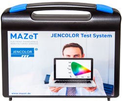 Echtfarbdarstellungen mit dem integrierten Farbsensor