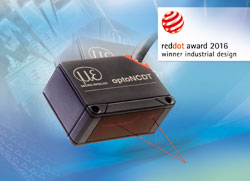 Red Dot Design Award 2016 für smarte Laser-Sensoren
