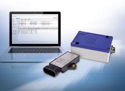 Sensor zur hochgenauen Messung von Neigung, Beschleunigung und Vibration