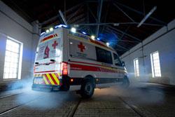 Rotes Kreuz Niederösterreich profitiert von CO-Gaswarnanlage von MSR