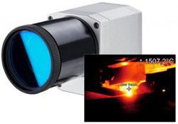 Infrarotkamera für die Metallindustrie bis 2000 °C
