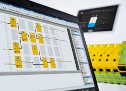 Konfigurierbare sichere Kleinsteuerung PNOZmulti von Pilz neu mit Anwendungs-Simulation - Konfiguration jetzt auch offline simulieren!