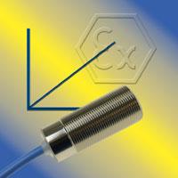 Kapazitive Näherungsschalter mit Analogausgang und ATEX / IECEx Zertifizierung für Zone 0 und 20
