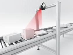 Hochauflösender Vision-Sensor mit integrierter Optik