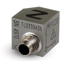 Triaxiale Hochtemperatur-Vibrationssensoren mit TEDS